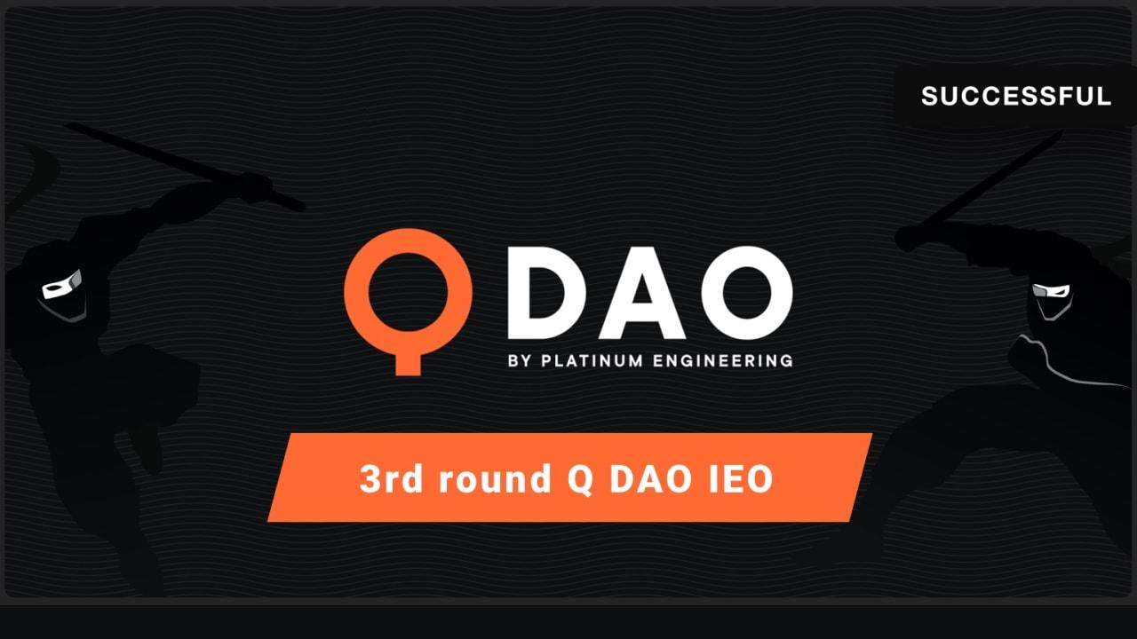3rd round Q dao IEO