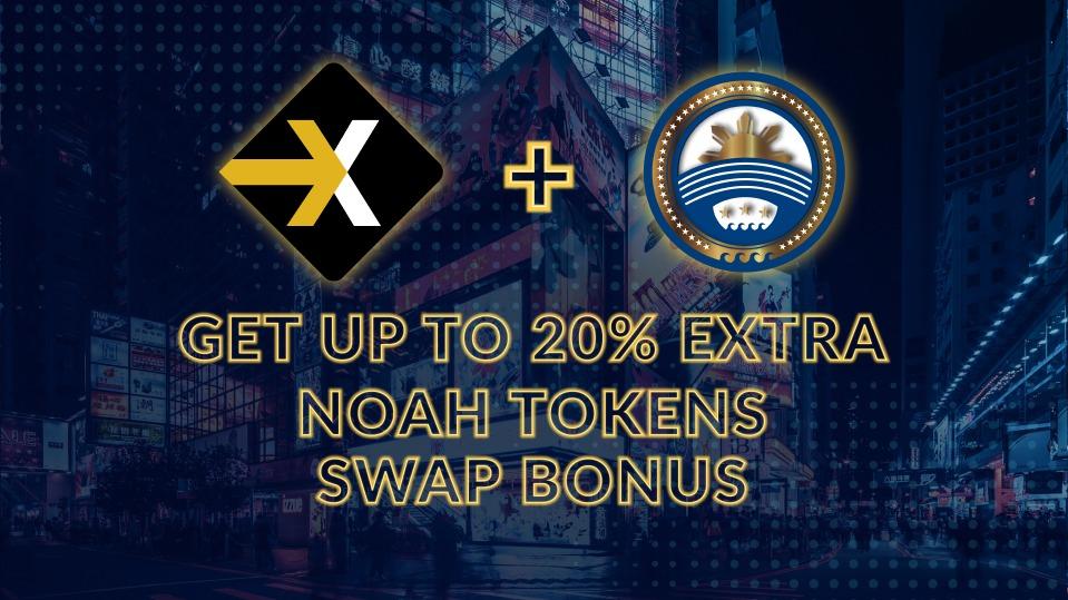 BTCNEXT+NOAH Token swap bonus