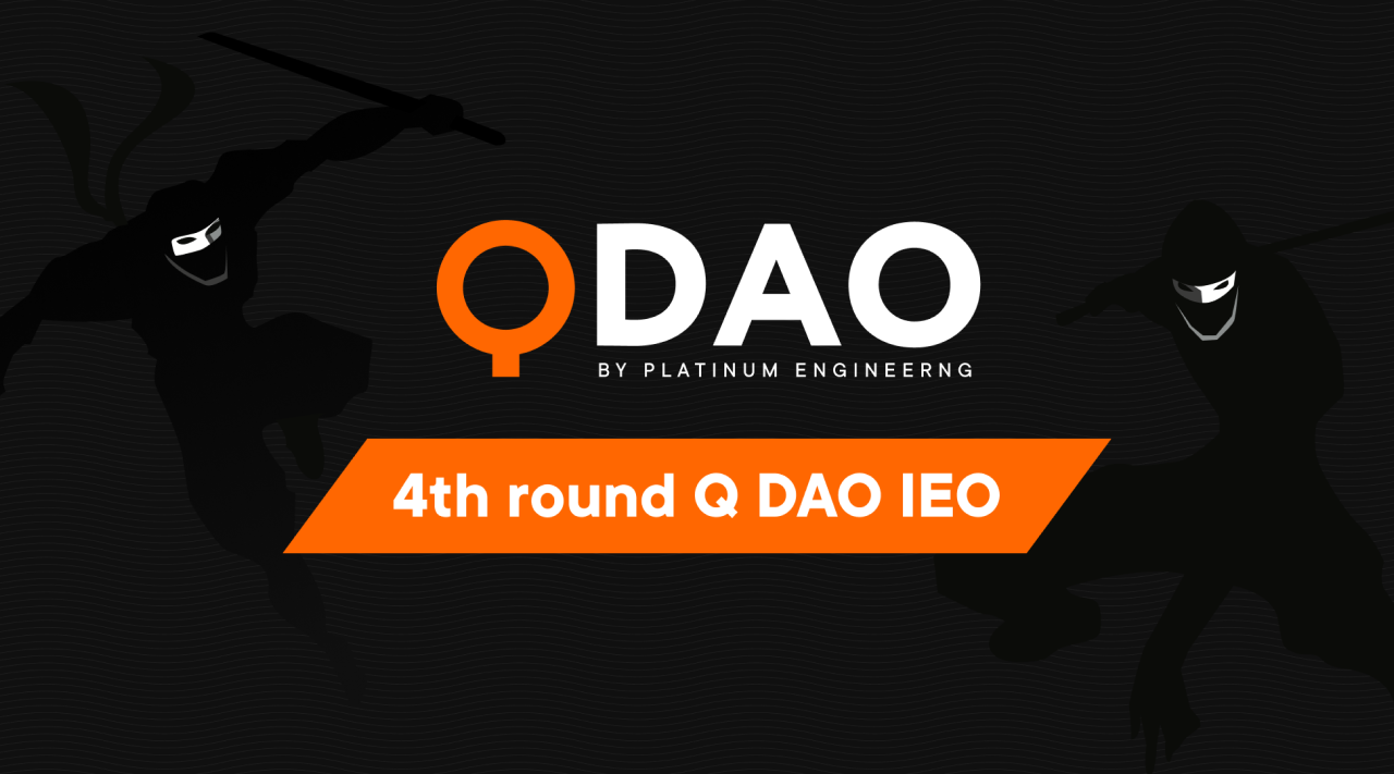 The 4th Q DAO sale is coming, together with the fall season!