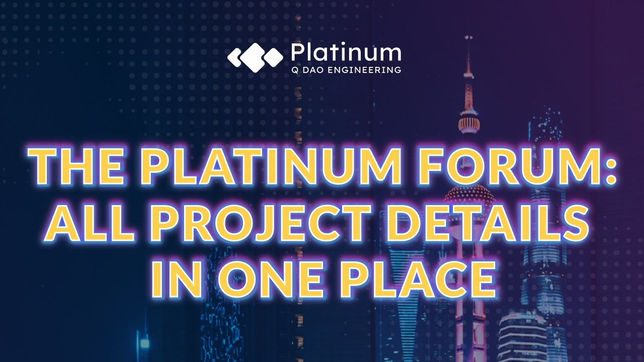 The Platinum Forum: all Noah City,  BTCNEXT and QDAO DeFi project details in one place