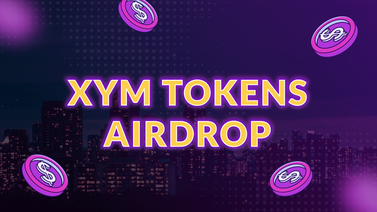 XYM tokens airdrop